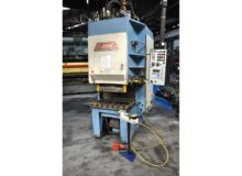 Leinhaas 63 ton H-frame presses