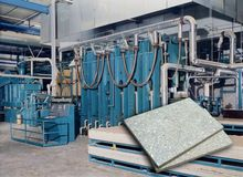 Siempelkamp panel press for fib