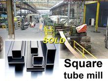 VS square tube mill 160 x 80 x