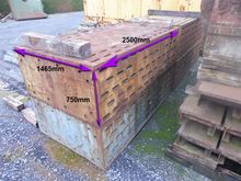 Clamping table 2500 x 1465 x 75