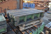 8 support blocs 1500 x 160 x 18