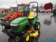 Tracteur john deere 2305 4×4 to