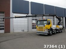 2005 Scania G 114.380 8x4 Hiab