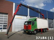 1995 Scania 113.360 6x2 Atlas 1