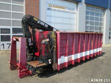 2006 Container 15m3 with Hiab 1