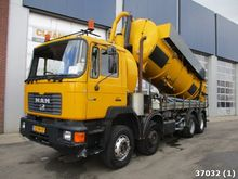 1993 MAN 32 VF 8x4 Combi Manual