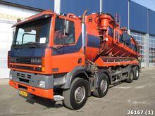 2000 DAF FAD 85 CF 380 8x4 RVS