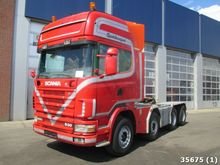 1999 Scania R 144.530 8x4 with