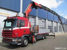 2003 Scania R 124.470 8x4 Retar