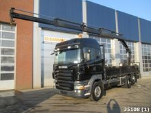 2009 Scania R310 6x2 Hiab 14 to