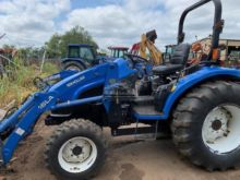 Used New Holland Tc40 Tractor For Sale Machinio