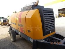 2011 Sany HBT60 D Concrete Pump