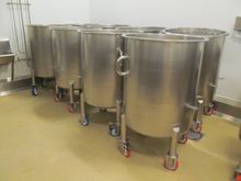 140 Gallon Portable Stainless S