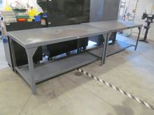 "36"" x 72"" Steel Work Benches"