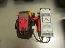 Lot Inluding Amprobe DM7C & SPX