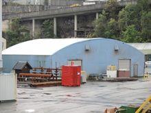 Steal Frame Tent Storage Buildi