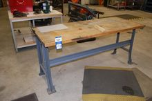 "30"" x 72"" Wood Top Work Station"