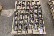 Lot of Assorted C-Clamps