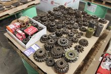 Lot of Horizontal Milling Cutte