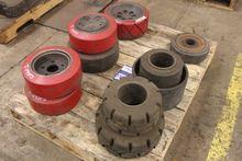 Lot of Assorted Forklift Tires