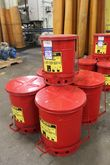 Justrite 10 GAL Oily Waste Can