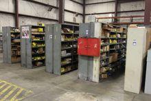(5) Rows of Shop Shelving Units