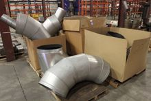 Lot of HVAC Duct and Hose