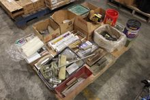 Large Lot of Nails, Screws, Sta
