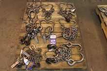 Lot of Rigging Chains and Hookd