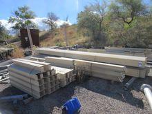 Lot I-Beam Construction Rack Sy