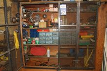Wall Mounted Tool Storage Cabin