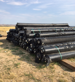 Lot of Woven GeoTextile Plastic