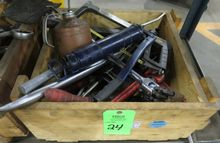 Box of Asst. Hand Tools