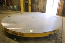 12' Steel Round Layout Table