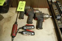 Lot Assorted Pneumatic Tools