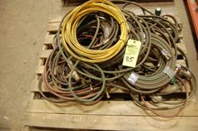 Skid Assorted Welding Leads, Ca