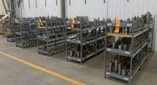 Shelves of Steel Milling