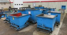 Used Steel Dump Hopp