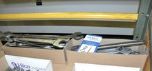Box of Adjustable Wrenches