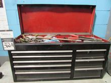 Open Top 8 Drawer Tool Box