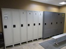 3 Unit Lockers
