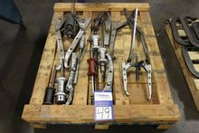 Lot of Gear Pullers and Slide H