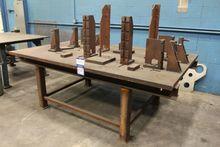 "1.5"" x 62"" x 100"" Welding Table"