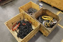Lot of Assorted Lifting Chains