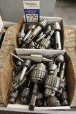Lot of Assorted Drill Chucks