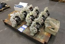 Lot of Pneumatic Double Diaphra