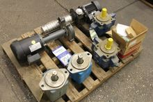Lot of Coolant Pumps and Gear P