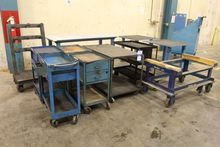 Steel Tables, Rolling Carts and