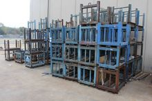 Lot of 4-Post Steel Crates