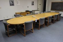 Conference Room Table and Chair